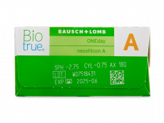 Biotrue ONEday for Astigmatism (90 lencse)