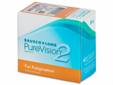 PureVision 2 for Astigmatism (6db lencse)