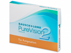 PureVision 2 for Astigmatism (3 db lencse)