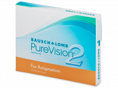 PureVision 2 for Astigmatism (3db lencse)