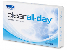 Clear All-Day (6db lencse)