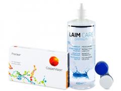 Proclear Compatibles Sphere (6 db lencse) +400 ml Laim-Careápolószer
