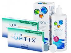 Air Optix for Astigmatism (2x3db lencse) +360 ml Geloneápolószer