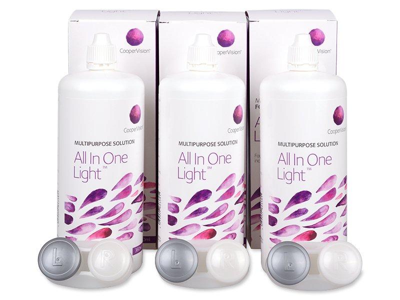All In One Light ápolószer 3 x 360 ml