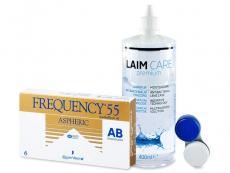 Frequency 55 Aspheric (6db lencse) + 400ml Laim-Careápolószer