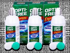 OPTI-FREE Express kontaktlencse folyadék 3x355ml