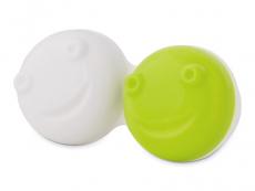 Lencsetartó a vibráló lencsetisztítóhoz - zöld