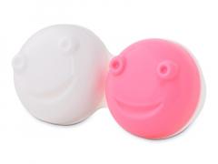 Lencsetartó a vibráló lencsetisztítóhoz - rózsaszín