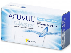 Acuvue Oasys for Astigmatism (12db lencse)