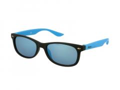 Gyermek napszemüveg Alensa Sport Fekete Kék Tükrös