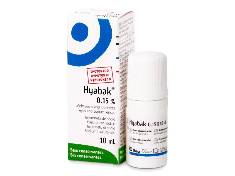 Hyabak szemcsepp 10 ml