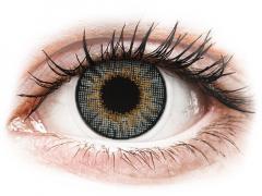 Szürke Air Optix Colors kontaktlencse - dioptriával (2lencse)
