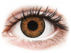 Mézszínű Air Optix Colors kontaktlencse - dioptriával (2db lencse)