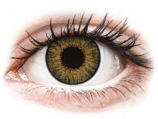Mogyorószínű Air Optix Colors kontaktlencse - dioptriával (2 dblencse)