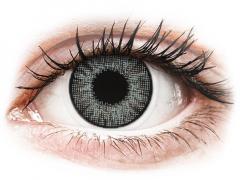Ezüstszürke Air Optix Colors kontaktlencse - dioptriával (2 dblencse)