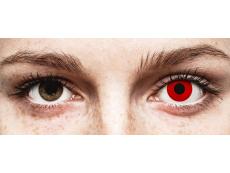 Piros Red Devil ColourVUE Crazy Lens lencse - dioptriás (2 db lencse)