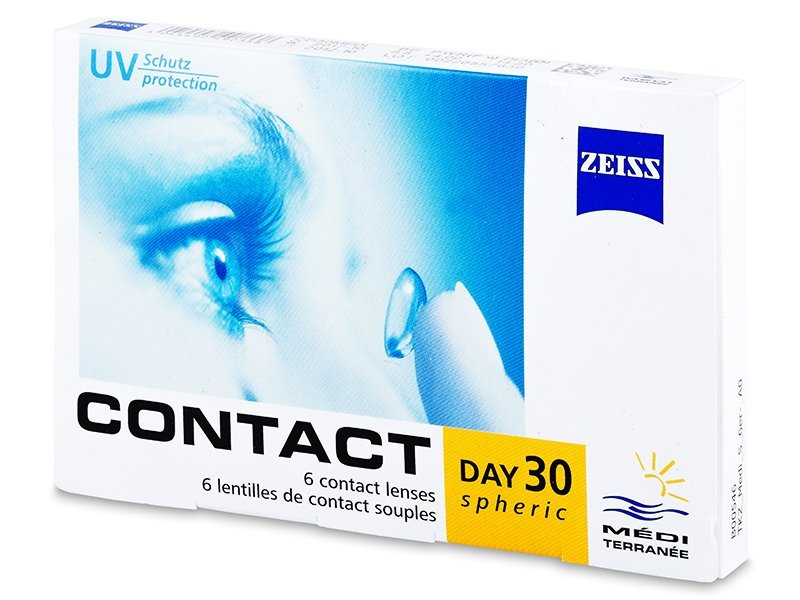 Carl Zeiss Contact Day 30 Spheric (6db lencse)