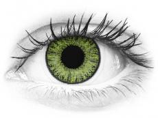Friss zöld TopVue Color Daily kontaktlencse - dioptria nélkül (10lencse)