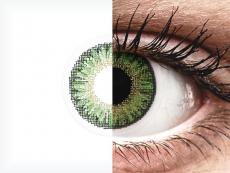 Zöld TopVue Color Daily kontaktlencse - dioptriával (10lencse)
