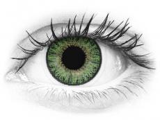 Zöld TopVue Color Daily kontaktlencse - dioptria nélkül (10lencse)