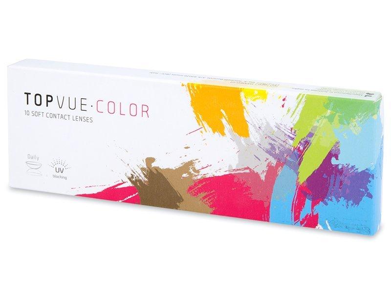 Zafírkék TopVue Color Daily kontaktlencse - dioptria nélkül (10lencse)