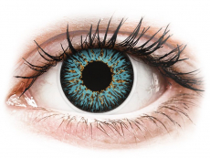 Aqua ColourVUE Glamour kontaktlencse - dioptriával (2db lencse)