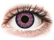 Ibolyaszínű ColourVUE Glamour kontaktlencse - dioptria nélkül (2db lencse)
