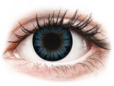 Kék Cool Blue ColourVUE BigEyes kontaktlencse - dioptriás (2 dblencse)