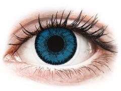 Kék topáz SofLens Natural Colors lencse - dioptriás (2 db lencse)