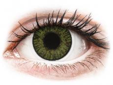 Zöld FreshLook ColorBlends kontaktlencse - dioptriával (2 db lencse)