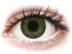 Zöld FreshLook ColorBlends kontaktlencse- dioptria nélkül (2 db lencse)