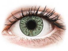 Zöld FreshLook Colors kontaktlencse - dioptriával (2 db lencse)