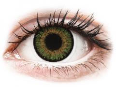 Zöld Freshlook One Day Color kontaktlencse - dioptriával (10 db lencse)
