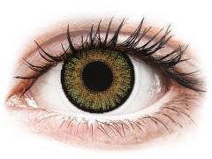 Mogyoró szín Freshlook One Day Color kontaktlencse - dioptria nélkül (10 db lencse)