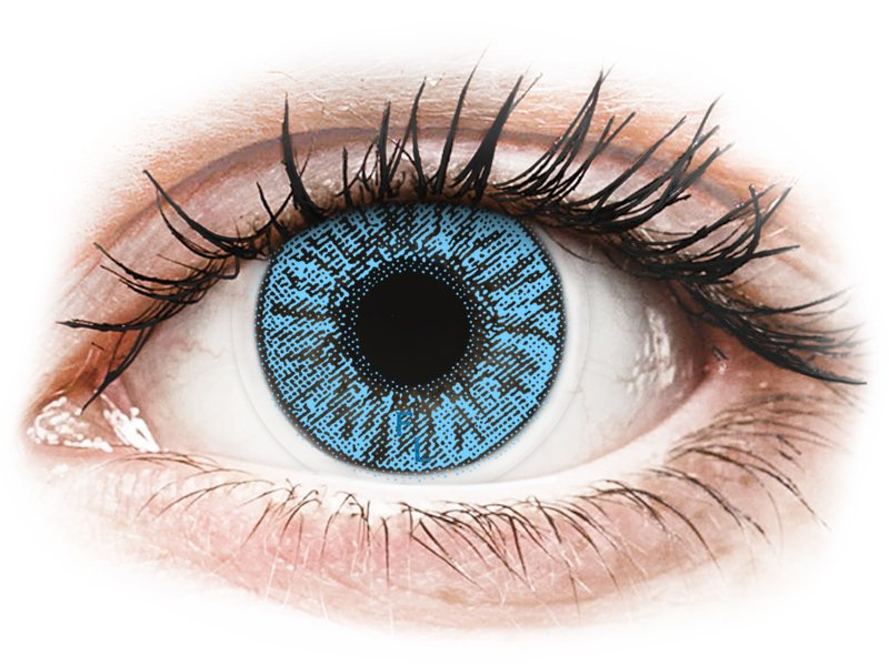 színes, kontaktlencsék, nem látás céljából