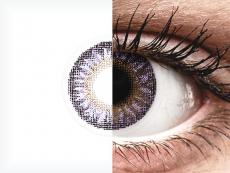 Violet TopVue Color kontaktlencse - dioptriával (2lencse)