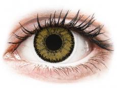 Sötét mogyorószínű SofLens Natural Colors kontaktlencse - dioptria nélkül (2 db lencse) (2 db lencse)