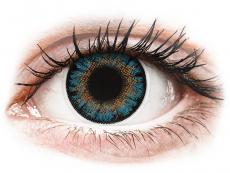 Kék ColourVue One Day TruBlends kontaktlencse - dioptriával (10 db lencse)