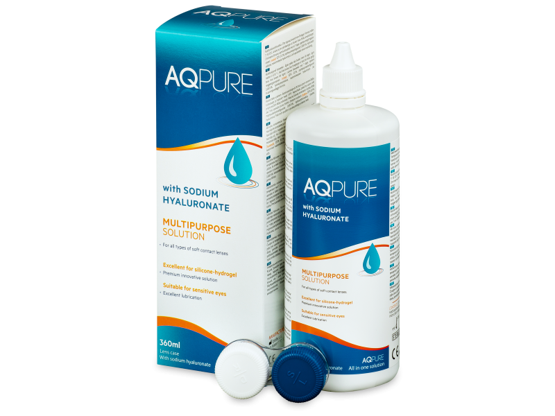 AQ Pure kontaktlencse folyadék 360ml