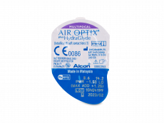 Air Optix plus HydraGlyde Multifocal (6db lencse)