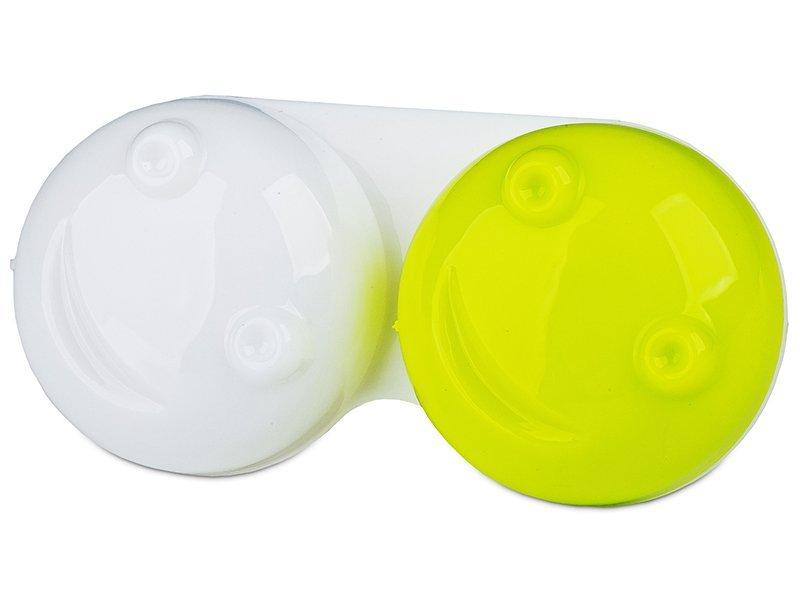 3D Kontaktlencse tartó - zöld