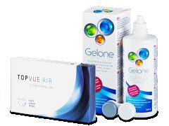 TopVue Air (6 db lencse) + 360 ml Gelone ápolószer