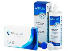 TopVue Air (6 db lencse) + 360 ml AQ Pure ápolószer