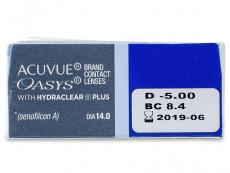 Acuvue Oasys (12db lencse)