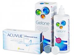 Acuvue Oasys (12 db lencse) +360 ml Geloneápolószer