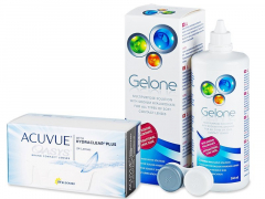 Acuvue Oasys (24 db lencse) +360 ml Geloneápolószer