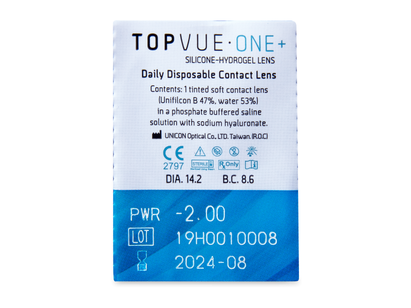 TopVue One+ (5 db lencse)