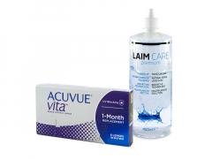 Acuvue Vita (6 db lencse) + 400 ml Laim-Care ápolószer