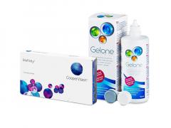 Biofinity (3 db lencse) + 360 ml Gelone ápolószer