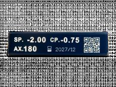 TopVue Premium for Astigmatism (6db lencse)
